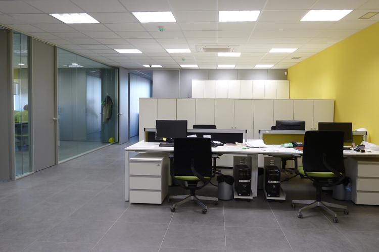 Oficinas centrales de zucasa artis for Oficinas bbva terrassa